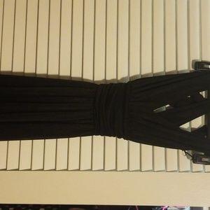 Black long Express dress